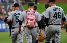 Being a Mariner relief pitcher has its ups and downs.