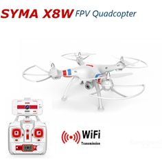 119.27$  Watch here - http://ali16x.worldwells.pw/go.php?t=32473342603 - Free Shipping Syma X8W Venture 2.4G 4channels FPV RC Quadcopter RC Drone  with 2MP PFV Wide Angle Camera
