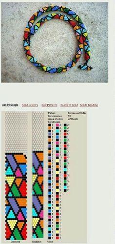 Die 81 Besten Bilder Von Muster Perlenarmband Häkeln Bead Crochet