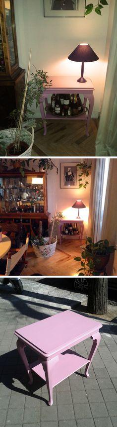 Miles de ideas sobre mesas pintadas en pinterest muebles - Mesas pintadas a la tiza ...