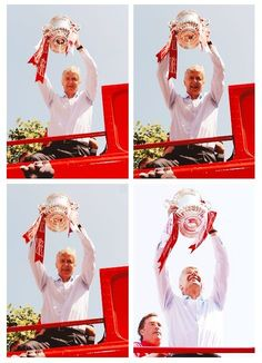 The 2014 FA Cup Champion - Arsenal  Arsenal Winning Parade