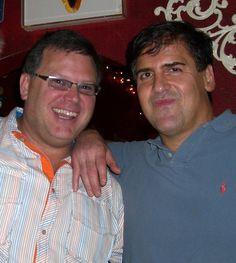 Mark Cuban and Bill Ganz