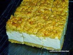 BRZI JOGURT KOLAČ ~ Recepti i Ideje Flan Dessert, Cake Recipes, Dessert Recipes, Croatian Recipes, Cooking Recipes, Cooking Ideas, Macaroni And Cheese, Good Food, Food And Drink