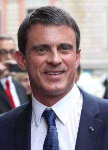 Kandidáti: Manuel Valls