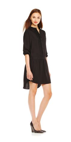 For That Last Sidewalk Brunch Before It's Just Too Cold  Go for a no-frills pick like a shirtdress or a T-shirt style. Try one with a loose or expandable belt — just in case you eat one too many pancakes. (Oops.