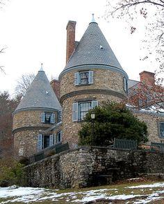Grey Towers, Milford, Pennsylvania (PA) - Gifford Pinchot House.