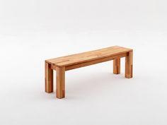 Esszimmerbank Persus 2 Größen Massive Sitzbank mit durchgehender Platte Massivholz Material: Kernbuche massiv geölt Aufbauart: zerlegt Bank A: massive...