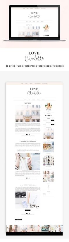WIN OUR NEWEST THEME! LOVE CHARLOTTE FOR WORDPRESS IS LIVE!