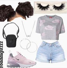 Look at other great ideas about Design and style clothes, Spoils attire and Ladies fashion. Baddie Outfits Casual, Boujee Outfits, Teen Fashion Outfits, Dope Outfits, Girly Outfits, Stylish Outfits, Ladies Fashion, School Outfits, Preteen Fashion