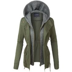 LE3NO Womens Lightweight Military Anorak Safari Jacket ($30) ❤ liked on Polyvore featuring outerwear, jackets, lightweight jackets, fashion military jacket, anorak coat, light weight jacket and lightweight military jacket