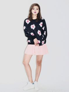 Spring Floral Sweater