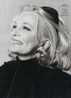 The talented Gena Rowlands. Hollywood Glamour, Hollywood Stars, Female Actresses, Actors & Actresses, Gena Rowlands, John Cassavetes, Dramatic Classic, Portraits, Famous Women
