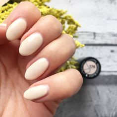 semilac 176 Manicure, Nails, Almond Butter, Beauty, Nail Bar, Finger Nails, Ongles, Nail Polish, Cosmetology