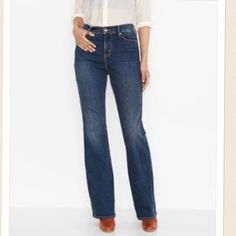 512tm perfectly slimming bootcut jeans (petite)