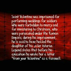 do you know why we celebrate valentines day