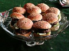 Cupcakeluv: Mini Burger