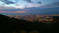 Atardecer Bogotano, mirador la Calera
