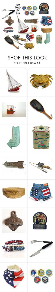 Memorial Day - Thank you to our Military by patack on Polyvore featuring interior, interiors, interior design, home, home decor, interior decorating, Blubianco, Volare, INC International Concepts and vintage
