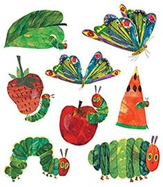 The Very Hungry Caterpillar Set by The World of Eric Carle from Tattly Temporary Tattoos. Fake tattoos by real artists! Eric Carle, The Very Hungry Caterpillar Activities, Hungry Caterpillar Party, Agnus Day, Chenille Affamée, Caterpillar Tattoo, Tattoo Set, Beautiful Butterflies, First Birthdays