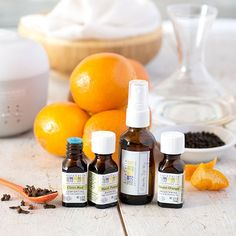 Citrus Spice Room Spray with Black Pepper Essential Oil