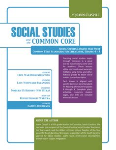 Social Studies and the Common Core is a series of hour-long lesson plans designed to teach English Language Arts Standards through Social Studies. Lesson 5 focuses on Native Americans in U.S. History. Suited for grades 4 through 8. Buy all 5 lessons together and save $5! Now available on www.teacherspayteachers.com.