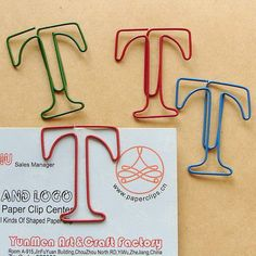 T Shaped Paper Clip