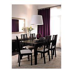 BÖRJE Silla IKEA La funda es fácil de quitar y poner. Funda lavable a máquina. Fácil de mantener. Cojín para mayor comodidad.