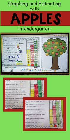 Are you looking for fall apple math and literacy centers? Get your hands on these exciting math activities that include graphing, estimating, sequencing, number identification and addition. The literacy activities include writing, letters, beginning sounds, sorting and SO MUCH MORE! Grab your Fall math and literacy activities TODAY! #tpt #teacherspayteachers #kindergarten #math #literacy #graphing #estimating #sequencing