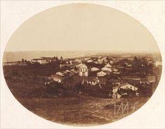 Panorama da cidade de Olinda, Pernambuco, em 1855