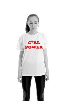 Girl Power Tshirt Feminism Tee Girl Power Shirt by Odd13Boutique