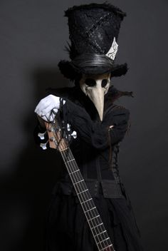 the-whimsical-raven:    Plague Doctors:  Sexy?Creepy?Both? I think so!:)