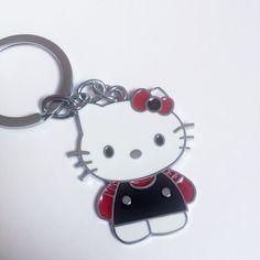 9bb4e612b Hello Kitty Glitter Keychain   Claire's   things I like   Hello ...