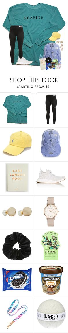 """~exam week=stress week~"" by taylortinsley ❤ liked on Polyvore featuring NIKE, Polo Ralph Lauren, The North Face, adidas, Kenneth Jay Lane, ROSEFIELD, Miss Selfridge, TONYMOLY, Lilly Pulitzer and Herbivore"