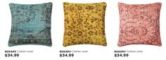pillows from IKEA