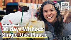 In 2015 alone, people generated 300 million tons of plastic waste, and since then the number has only gone up. Here's what happened when we tried to go a ful. Use Of Plastic, Plastic Waste, One Small Step, New Twitter, Plastic Pollution, One Month, Gas And Electric, Trend News, New Instagram