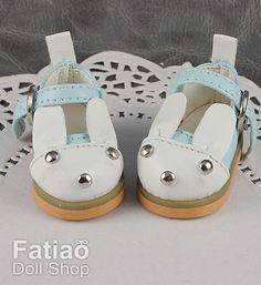 Fatiao  1/6 BJD dollfie YOSD Rabbit Mary Jane Doll Shoes by fatiao