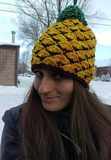 Ravelry: fleurdelys516's Pineapple Beanie - crochet