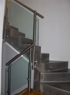 Barandales de cristal para escaleras buscar con google - Barandales para escaleras ...