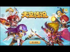 天空传说 android game first look gameplay español