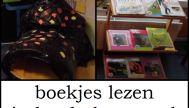 Boekjes lezen in het hol van mol
