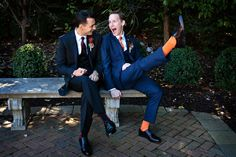 We absolutely ADORE this couple. Sparkling personalities and senses of humor that have us in stitches. #wedding #fate #love