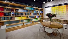 Nirlat showroom by Studio Yaron Tal, Israel showroom store design