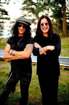 #Slash #OzzyOsbourne Steven Tyler, Guns N Roses, Hard Rock, Ozzy And Sharon Osbourne, Ozzy Osbourne Black Sabbath, Paradise City, Best Guitarist, Punk, Rockn Roll