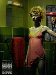the hair-suicide - Miles Aldridge