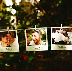 21 Beautifully Creative Ways To Use Polaroids On Your Wedding Day!