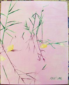 dipinto a tempera grassa 40x50 MARGHERITA RANCURA PITTRICE VENETA CONTEMPORANEA