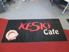 Mainosmatto Keski Cafe: http://www.promostar.fi/logomatto_omalla_kuvalla