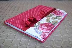Resultado de imagen para capa de caderno em tecido