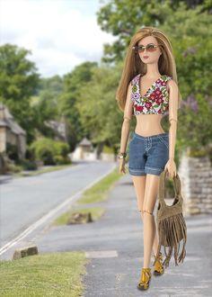 Barbie ropa y accesorios: Tris Divergente BCP69