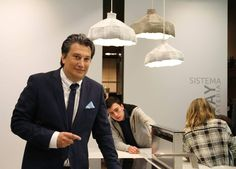 Our #design Michele Marcon at #Eurocucina #Isaloni 2016.